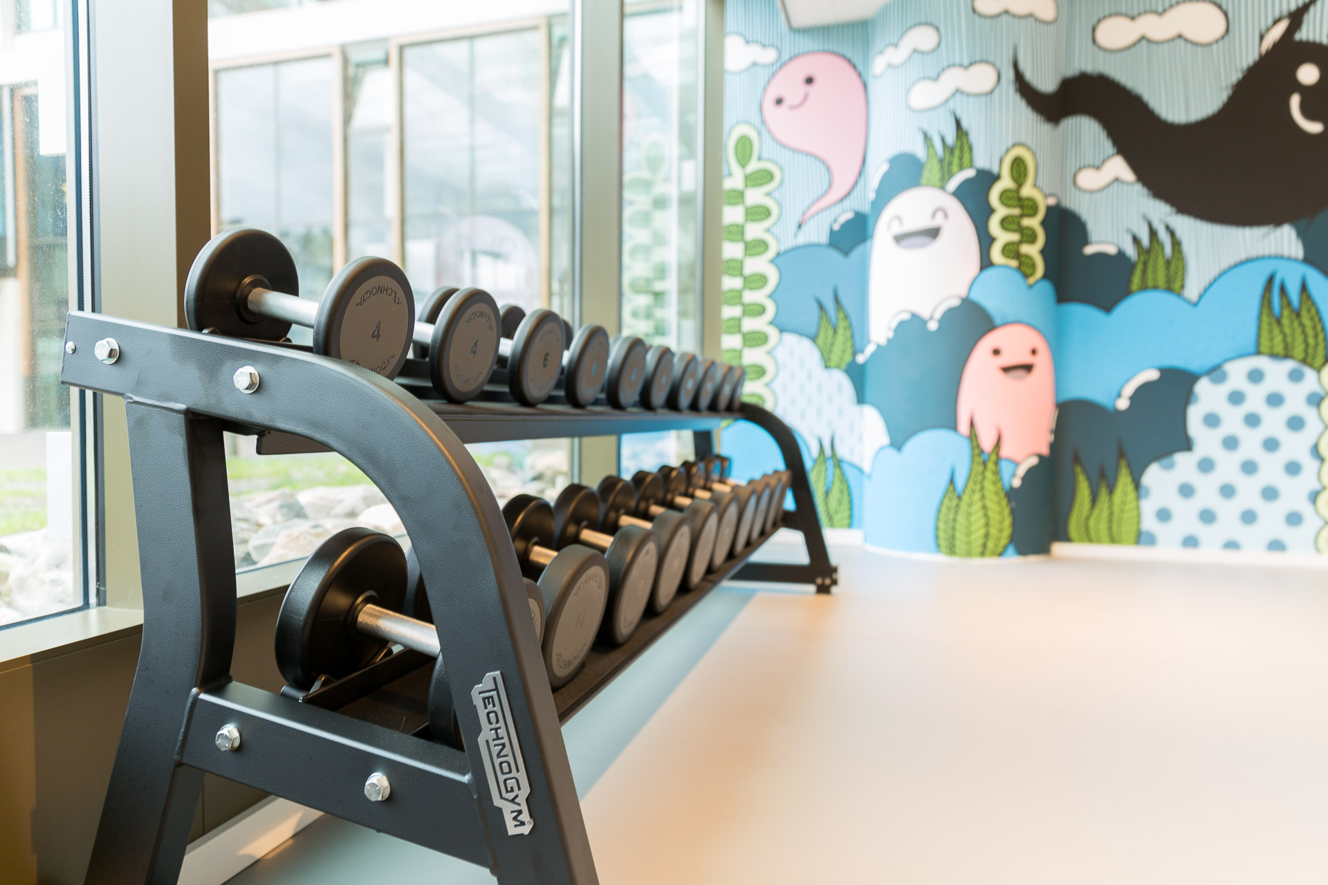 Free guest fitness at PREMIER SUITES PLUS Rotterdam